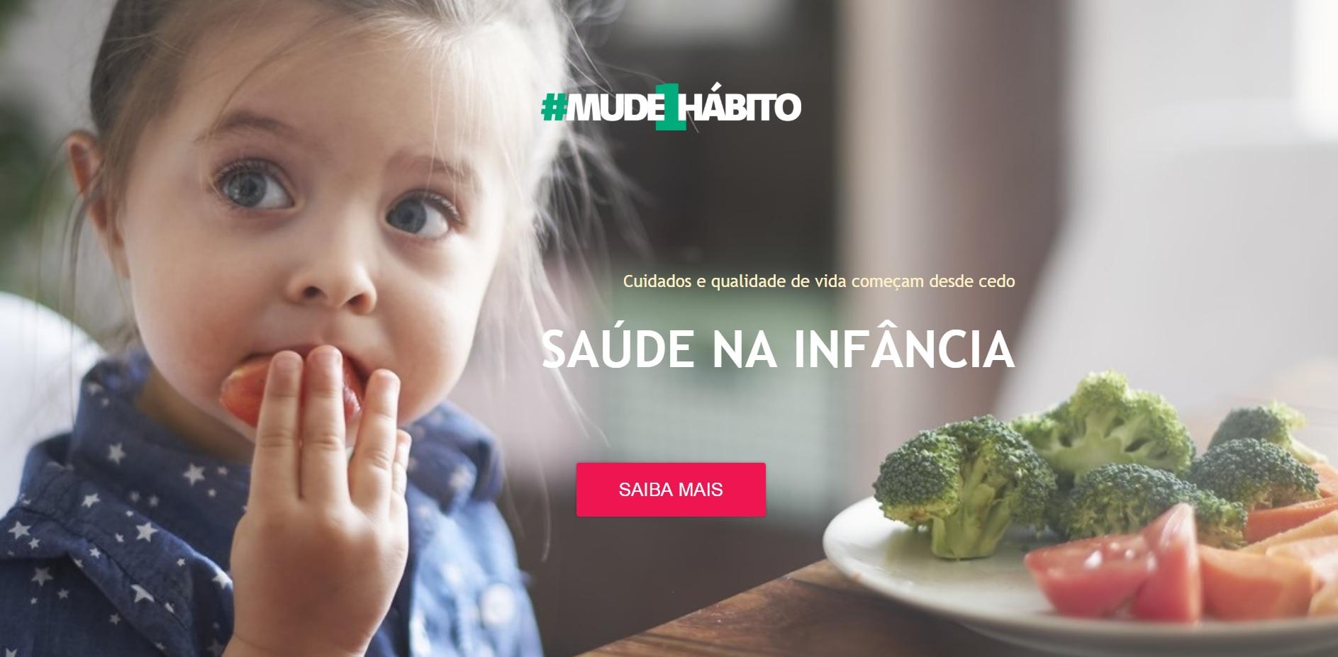 Banner mostra sobre o projeto Mude um Hábito