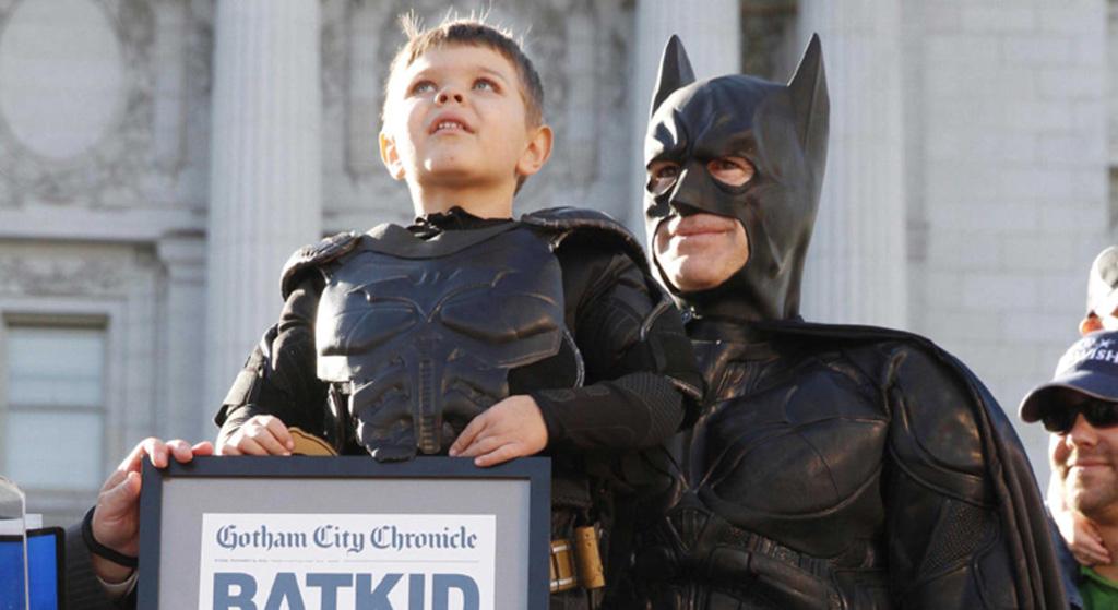 Miles Scott Batman por um dia Blog Unimed VTRP 7