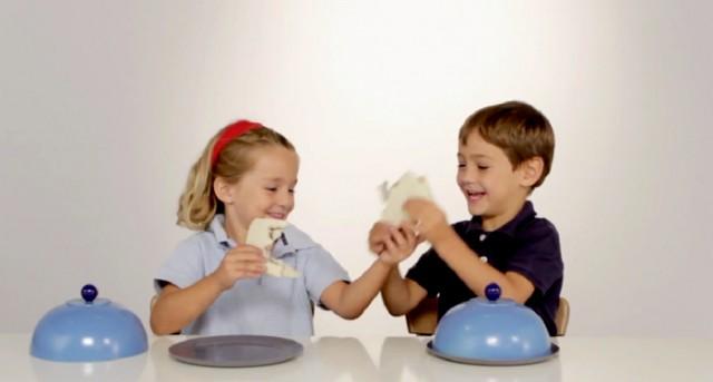 Como crianças reagem a um prato vazio Blog Unimed