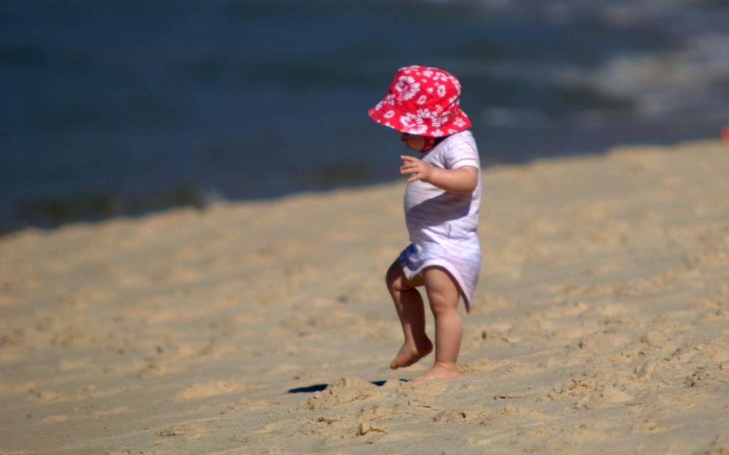 Blog Unimed VTRP Bebê na praia Cuidados 1