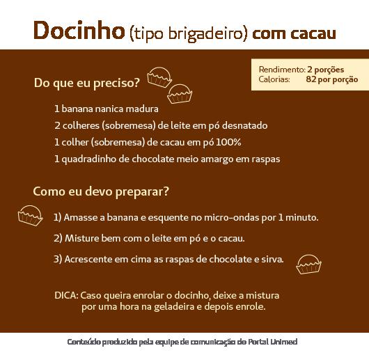 Blog Unimed-docinho-cacau