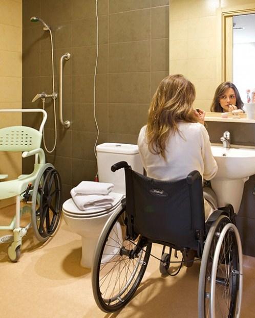 Banheiro para deficientes Físicos Cadeirantes Blog Unimed VTRP 4