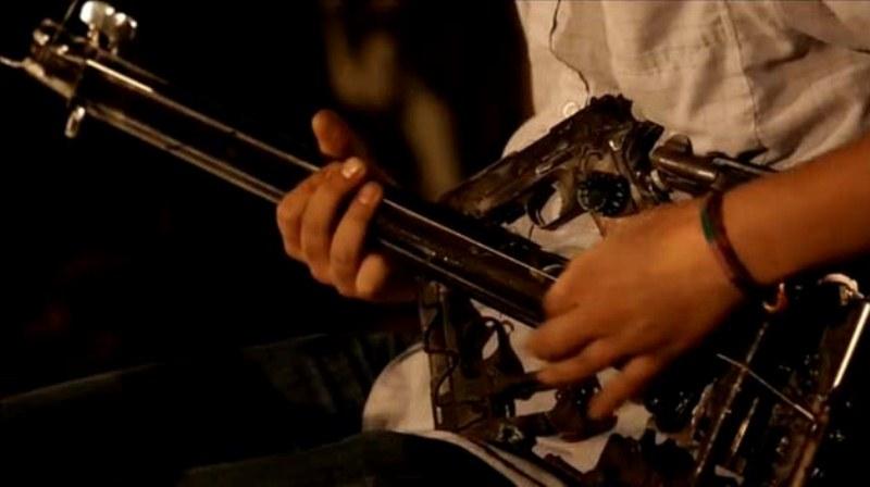Armas se transformam em instrumentos musicais Blog Unimed VTRP 3