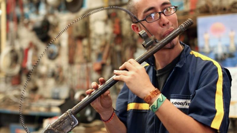 Armas se transformam em instrumentos musicais Blog Unimed VTRP 2