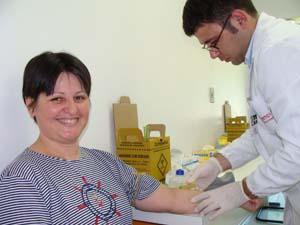 Suzana torce para, quem sabe um dia, salvar a vida de alguém
